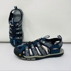 KEEN*Navy Waterproof Sandal Clearwater*US 7 $100